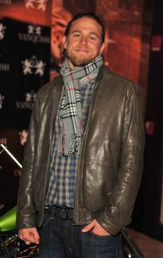 Star of 'Sons of Anarchy', Charlie Hunnam, Hosts Party Sons Of Anarchy, Gorgeous Men, Beautiful People, Superstar, Atlanta, Charlie Hunnam Soa, Good Looking Men, Perfect Man, Celebrity Photos