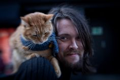 Bob the cat and James