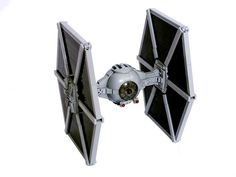 Super Punch: Lego Tie Fighter with building instructions