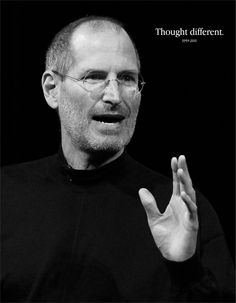 As a tribute to a good mentor, here's an inspirational compilation of creative advertisements dedicated to Steve Jobs. Rest in Peace Steve ! Cover Page Template Word, Steve Jobs Apple, Business Magnate, Steve Wozniak, Famous Men, Famous People, Successful People, Portrait Photo, Cover Pages