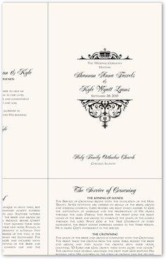 Greek Orthodox Wedding Program Example-Wedding Directories-Order ...