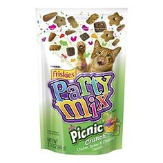 Picnic Crunch Friskies Party Mix Cat Treats *** Continue to the product at the image link. (This is an affiliate link and I receive a commission for the sales)