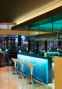 There are 10 food and drink venues, from the Habano Cigar Lounge to Moana, a chic contemporary seafood restaurant lapped by candlelit water. #Jetsetter Sofitel Dubai The Palm Resort (Dubai, United Arab Emirates)