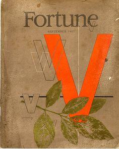 September '45 - Fortune Magazine Cover