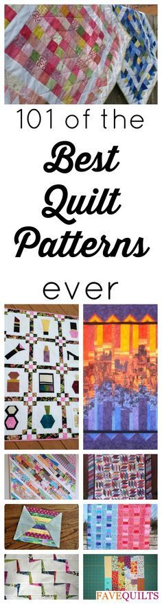 101 Best Quilt Patterns for Free: Quilt Block Patterns, Quilt Patterns for Baby…