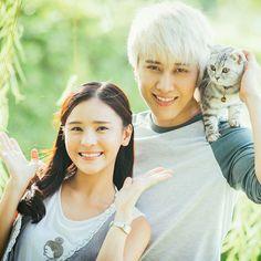 Made for each other me thai💕💕 Teen Couples, Cute Couples, Kiss Me Drama, Full House Thai, Korean Celebrities, Celebs, Mike D Angelo, Itazura Na Kiss, Playful Kiss
