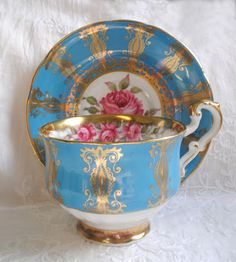 Artful Affirmations: Tea Cup Tuesday Blues--Paragon