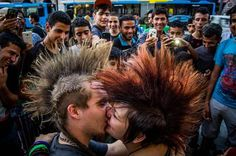 make love not war Photo by Mark Mervai — National Geographic Your Shot
