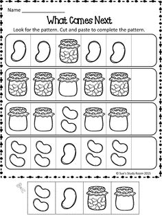 Finish The Pattern Good For Assessment