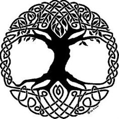 The Tree of Life represents three worlds - the Upper World, the Middle World, and the Lower World