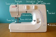 what a good sewing machine reminder for a newb like me. will print and leave with my sewing machine for when I can't figure out what is wrong!