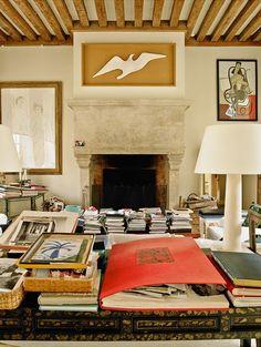 https://flic.kr/p/DjTsXe | 14-Hubert de Givenchy | Château du Jonchet-This Is Glamorous | www.thisisglamorous.com/2016/02/at-home-with-hubert-de-gi...