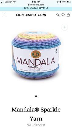 Lion Brand Yarn, Coffee Cans, Dog Bowls