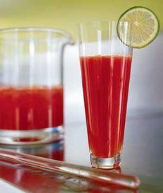 Watermelon-Lime Cooler Recipe