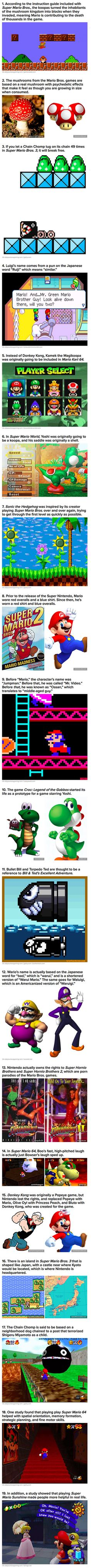 19 Cool and Interesting Facts About Super Mario Bros - TechEBlog