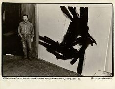 Franz Kline - was a member of the second Abstract Expressionist generation, and is best . Franz Kline, Action Painting, Painting Lessons, Atelier Photo, Watercolor Paintings Abstract, Watercolor Artists, Abstract Oil, Painting Art, Willem De Kooning