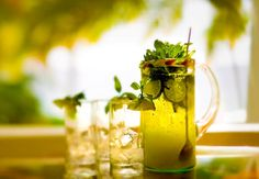 Tropical Mojito: In Friday Specials this week, we've created the perfect menu to sit back and chill while revisiting the ultimate new classic