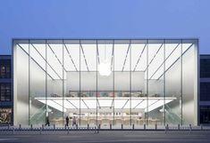 rape Apple Store - Hangzhou, China, 2015 Norman Foster via for Hangzhou, Retail Architecture, Contemporary Architecture, Architecture Design, China Architecture, Classical Architecture, Landscape Architecture, Norman Foster, Apple Store