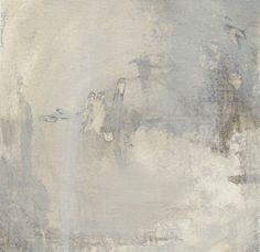 Abstract Painting, Acrylic Beige and White Painting, Modern Contemporary