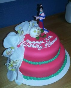 Princess Mulan Cake