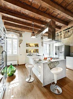 Kitchen New Meets Old Interior Design