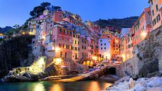 Cinque Terre on the Italian Riviera for great hiking, pretty beaches and romantic cliffside villages.