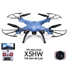 Pre-Built Model Helicopters - Newest Syma HD WIFI Camera FPV Realtime RC Quadcopter Drone Remote Control Helicopter Aircraft VS * Learn more by visiting the image link. Wifi, Dji Phantom 2, Drone With Hd Camera, Latest Drone, Drone For Sale, Drone Quadcopter, Gopro Drone, Rc Helicopter, Remote Control Toys