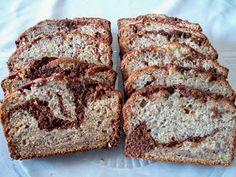 Brooke Bakes : Chocolate Swirl Banana Bread