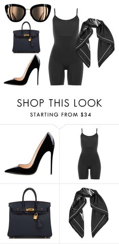 """""""A summer day!"""" by shanelle-ashford on Polyvore featuring SPANX, Hermès and Equipment"""