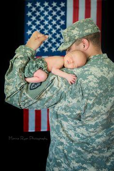 Loooove this! Military newborn :)