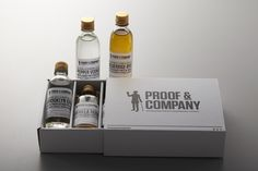 Proof & Company by Manic Design on Packaging Design Served