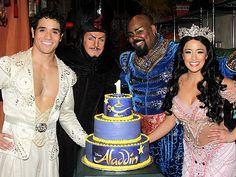 Happy birthday, ALADDIN! The stars celebrate one shining, shimmering year on Broadway
