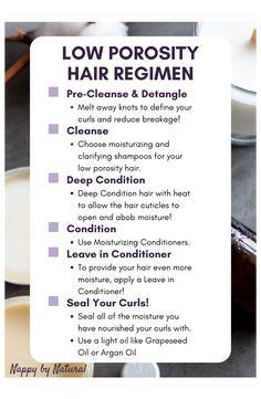 4c low porosity hair care