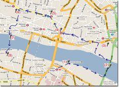 Ruta andando en el centro de Londres en Viaje por Londres - Ruta 5