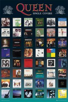 Queen's single covers