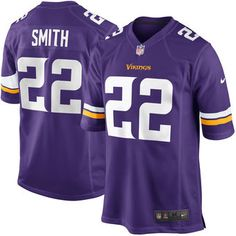 Nike Harrison Smith Minnesota Vikings Purple Game Jersey #vikings #nfl #minnesota