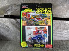 Jimmy Carr #65, Racing Champions, World Of Outlaws, Sprint Cars 1994, 1/64 Scale Die Cast Model Car, Series 2, Collectible Toys by TheStorageChest on Etsy