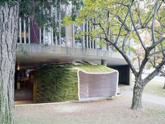 Huyghe + Le Corbusier Puppet Theater | MOS Architects