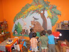 Falra festett Meseképek – színes freskók – várták a wesley óvodásokat szeptemberben…. | Wesley János Lelkészképző Főiskola