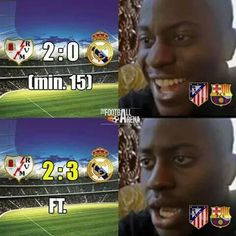 Barcelona & Atletico Madrid fans reaction to today's game: