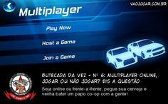 Butecada Da Vez - Nº 6: Multiplayer Online, Jogar Ou Não Jogar? Eis A Questão - Seja online ou frente-a-frente, pegue sua cerveja e venha bater um papo co-op com a gente!