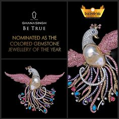 Ghanasingh Be True has been adjudged a prestigious nominee for Retail Jeweller India Awards, '15 in the Best Colored Gemstone Jewellery of the Year category. It is truly an honour for us!
