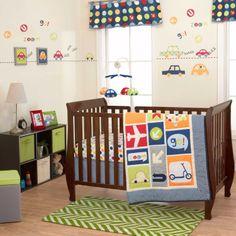 Belle Boys World Crib Bedding Collection