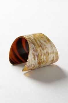 banded horn cuff from anthro