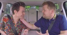 James Corden and Harry Styles solidify their bromance in 'Carpool Karaoke'