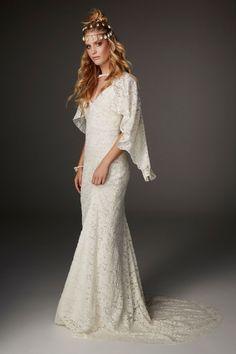 Bohemian Wedding Dresses, Modest Wedding Dresses, Boho Bride, Designer Wedding Dresses, Bridal Dresses, Wedding Gowns, 2017 Wedding, Bridal Style, Dress Collection