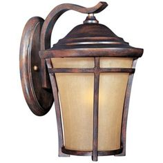 """Maxim Balboa VX 11 1/2"""" High Copper Oxide Wall Light"""