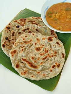 Craving the yummy Jamaican food we had in NY!  Roti Canai and Dhal Curry