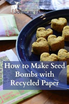 Seed bombs and seed paper can be made into creative gifts, party favors, or an inspiring nature activity for students. It's fun to do with children or friends. Learn how to make these easy and useful creations that are easily customized. Organic Gardening, Gardening Tips, Vegetable Gardening, Allotment Gardening, Seed Bombs, Bomb Making, Seed Paper, Grow Your Own Food, Growing Herbs