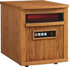 Duraflame Infrared Portable Heater - Oak Finish